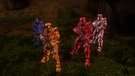 Doc, Grif, Sarge, and Donut S11