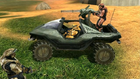 Simmons and Grif in Warthog