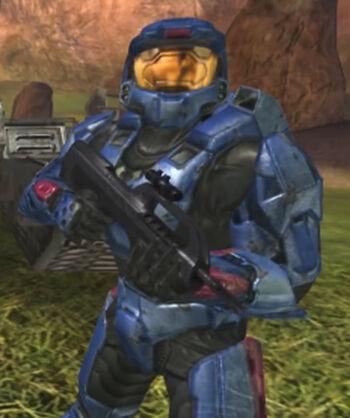 H2 Blue Armor