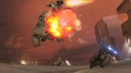 Tex shoots Warthog