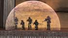 Insurrectionists inside Domed Energy Sheild