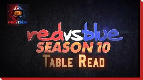 Behind the Scenes Table Read - Red vs