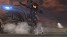Tex reverses on motorbike