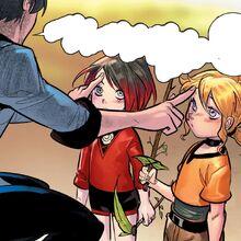RWBY DC Comics 1 (Chapter 2) Qrow gives Ruby and Yang's advice on battles.jpg