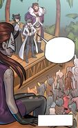 RWBY DC Comics 7 (Chapter 14) Blake's journey in Menagerie