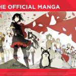 Promotional material for RWBY The Official Manga Volume 3 full artwork.png