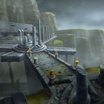 Amity arena stage concept emerald forest ruins.jpg