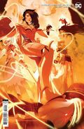 RWBY Justice League 4 variant cover Team RWBY and Diana