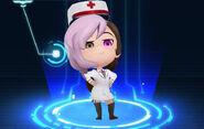 RWBY Crystal Match Neo Politan's paramedic outfit