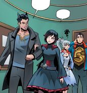 RWBY Justice League 2 (Chapter 4) Ruby joined Bruce searching for Speedster