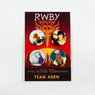 RWBY Vytal Button Pack 5 - Team ABRN