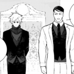 Chapter 19 (2018 manga) Ironwood discussed Ozpin about Team RWBY after the battle.png