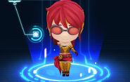 RWBY Crystal Match Pyrrha Nikos' Red Huntress outfit