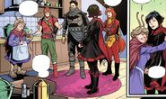 RWBY Justice League 3 (Chapter 5) Barry, Nora and Jesse's home