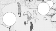Chapter 15 (2018 manga) Oobleck talks about Mountain Glenn to WBY and Zwei