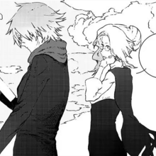 Chapter 3 (2018 manga) Ozpin and Glynda observe the student's pair up.png