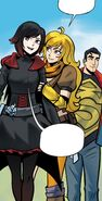 RWBY Justice League 2 (Chapter 4) Ruby and Yang with Clark