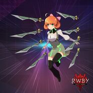 RWBY Amity Arena official design of Penny Polendina