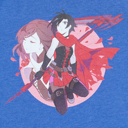 RWBY Moms Duos Ruby and Summer T-Shirt