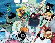 RWBY Justice League 6 (Chapter 12) Team RWBY vs. Team JNPR rematch