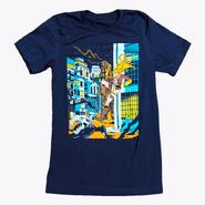 RWBY Grimm Street Fight Yang T-Shirt