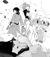 Chapter 17 (2018 manga) Ren and Nora arrive in Vale to assist Team RWBY