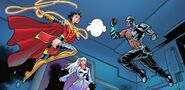 RWBY Justice League 3 (Chapter 6) Diana vs. Victor Stone