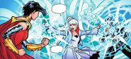 RWBY Justice League 3 (Chapter 6) Weiss interrupt the fight