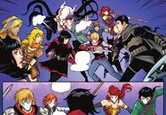 RWBY Justice League 4 (Chapter 8) Team RWBY and Justice League ambushed
