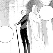 Chapter 14 (2018 manga) Ozpin's speech about missions to the students.png