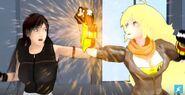 Yang VS Tifa DEATH BATTLE 07