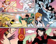 RWBY Justice League 6 (Chapter 12) Team RWBY vs. Team JNPR rematch 02