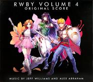 RWBY Volume 4 Score Cover