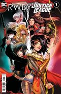 RWBY x Justice League 1 cover