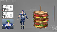 Kobalt Sandwich