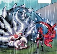 RWBY DC Comics 3 (Chapter 6) Ruby took down the last Manticore