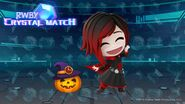 Crystal Match Halloween promotional material for Ruby Rose