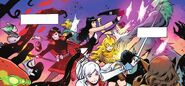 RWBY Justice League 4 (Chapter 8) Team RWBY fighting brainwashed citizens