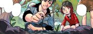 RWBY DC Comics 1 (Chapter 2) Qrow gives Ruby a hint what weapon Summer used