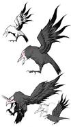 Nevermore (bilibili mobile game, concept art)