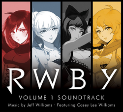 RWBY Volume 1 Soundtrack Cover.png