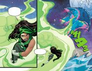RWBY Justice League 7 (Chapter 13) Jessica's final attack on Starro
