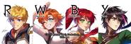 RWBY Official Manga Anthology Team JNPR Twitter header