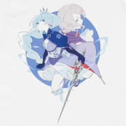 RWBY Moms Duos Weiss and Willow T-Shirt