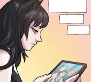 RWBY DC Comics 4 (Chapter 8) Blake looking at her family photo