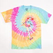 RWBY Neon Tie Dye T-Shirt