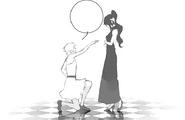 Chapter 13 (2018 manga) Jaune asks Pyrrha to dance with him