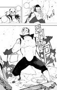 Chapter 18 (2018 manga) Blake trapped White Fang Lieutenant