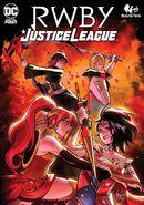 RWBY Justice League 4 cover