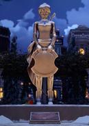 Pyrrha Statue